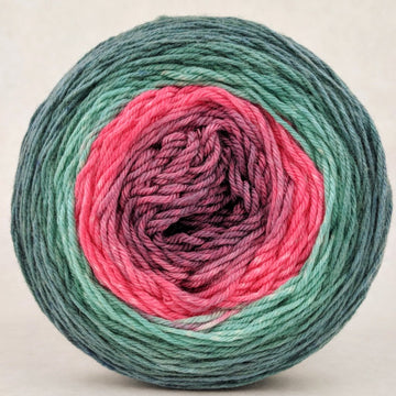 Knitcircus Yarns: Deck the Halls 100g Panoramic Gradient, Parasol, ready to ship - SALE