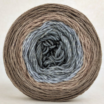 Knitcircus Yarns: Have Fun Storming the Castle 100g Panoramic Gradient, Parasol, ready to ship yarn