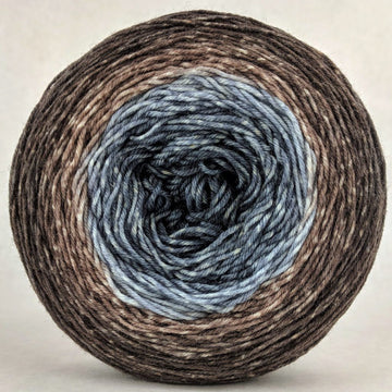 Knitcircus Yarns: Have Fun Storming the Castle 150g Panoramic Gradient, Greatest of Ease, ready to ship yarn