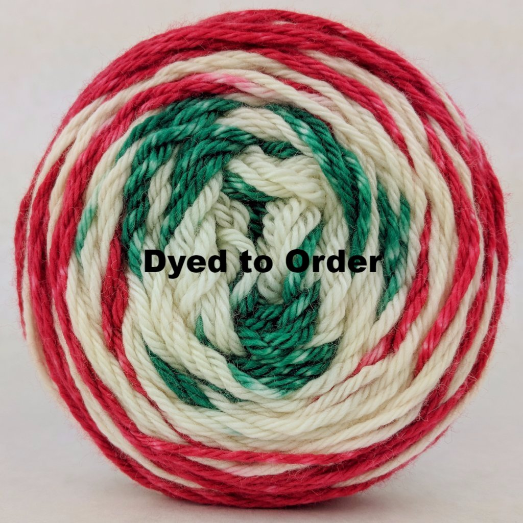 Feliz Navidad 100g Gradient Stripes, Ringmaster, dyed to order