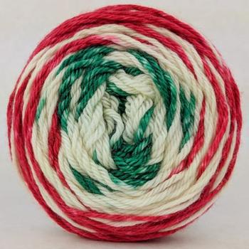 Knitcircus Yarns: Feliz Navidad 100g Gradient Stripes, Ringmaster, ready to ship yarn - SALE - SECONDS