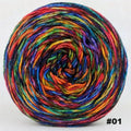 Knitcircus Yarns: Renegade Unicorn 100g Abstract, Greatest of Ease, choose your cake, ready to ship yarn