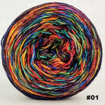 Knitcircus Yarns: Renegade Unicorn 100g Abstract, Trampoline, choose your cake, ready to ship yarn