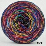 Knitcircus Yarns: Renegade Unicorn 150g Abstract, Greatest of Ease, choose your cake, ready to ship yarn