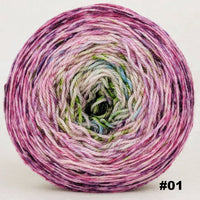 Knitcircus Yarns: Many Happy Returns 150g Impressionist Gradient, Opulence, choose your cake, ready to ship yarn