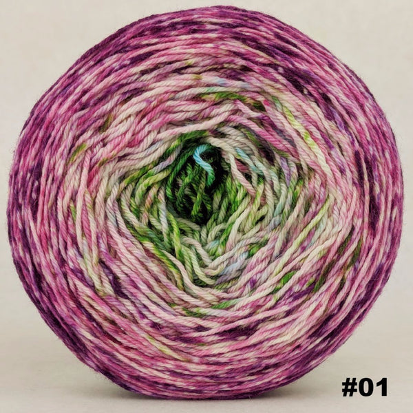 Knitcircus Yarns: Many Happy Returns 150g Impressionist Gradient, Parasol, choose your cake, ready to ship yarn