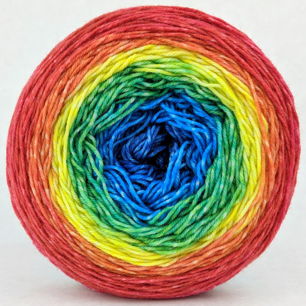 Knitcircus Yarns: Love Is Love 150g Panoramic Gradient, Greatest of Ease, ready to ship yarn