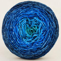 Knitcircus Yarns: Under the Sea 150g Chromatic Gradient, Greatest of Ease, ready to ship yarn
