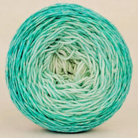 Knitcircus Yarns: Surf's Up 100g Chromatic Gradient, Greatest of Ease, ready to ship yarn