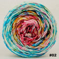 Knitcircus Yarns: Imaginary Best Friend 100g Impressionist Gradient, Ringmaster, choose your cake, ready to ship yarn