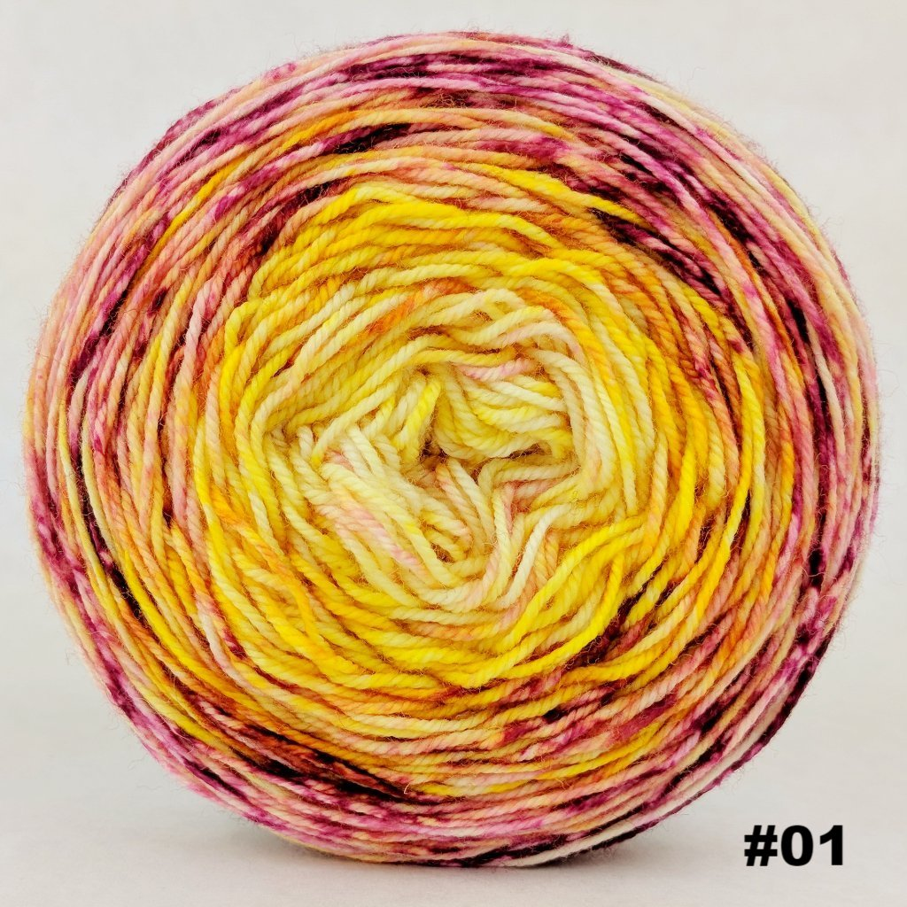 Sunshine Daydream 100g Impressionist Gradient, Trampoline, choose your cake, ready to ship - SALE