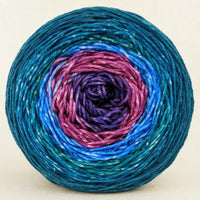 Knitcircus Yarns: Voyage of the Yarn Treader 100g Panoramic Gradient, Greatest of Ease, ready to ship yarn