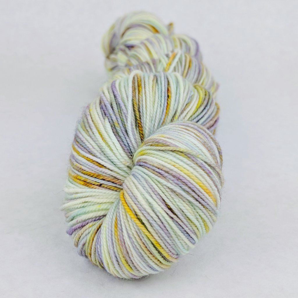 Kindness is Everything 100g Speckled Handpaint skein, Trampoline, ready to ship