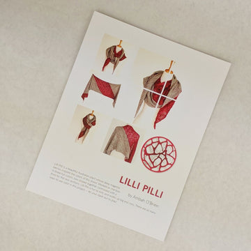 Pattern - Lilli Pilli, by Ambah O'Brien, ready to ship