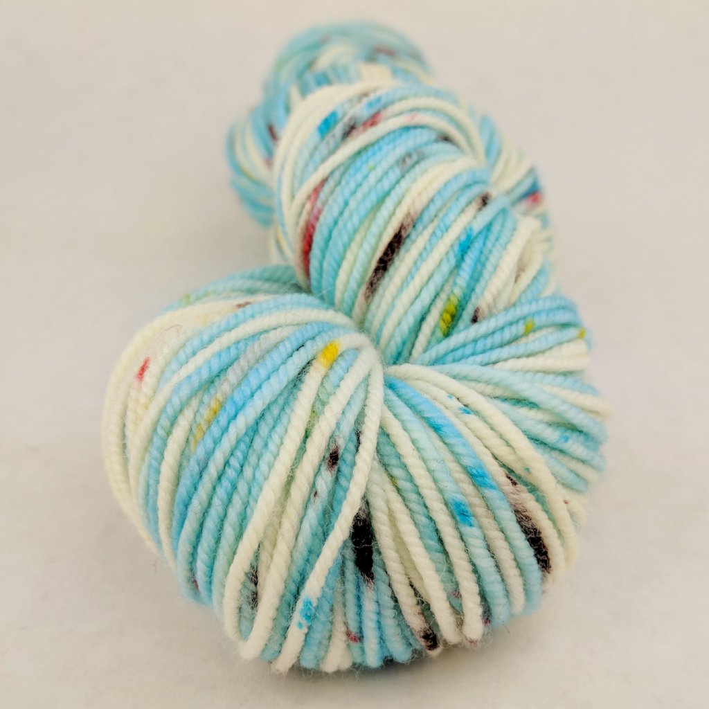 Into the Mystic 100g Speckled Handpaint skein, Magnificent, ready to ship