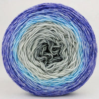 Knitcircus Yarns: Kindness is Everything 100g Panoramic Gradient, Trampoline, ready to ship yarn