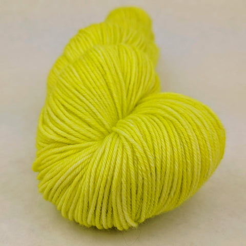 Appletini 100g Kettle-Dyed Semi-Solid skein, Greatest of Ease, ready to ship