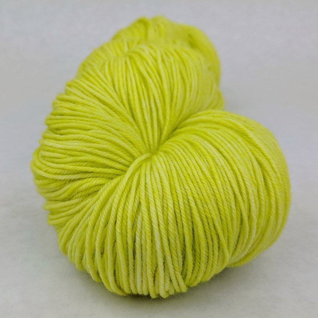 Appletini 150g Kettle-Dyed Semi-Solid skein, Greatest of Ease, ready to ship