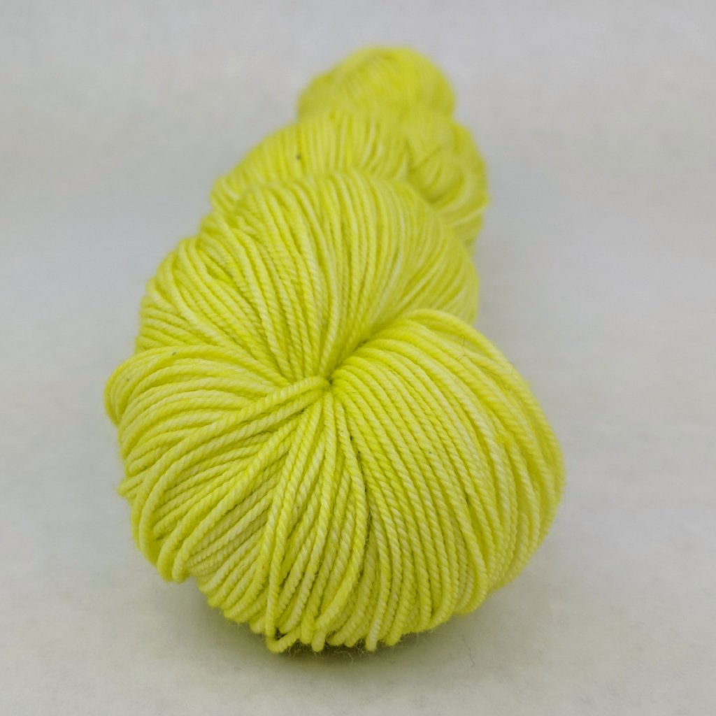 Appletini 100g Kettle-Dyed Semi-Solid skein, Trampoline, ready to ship
