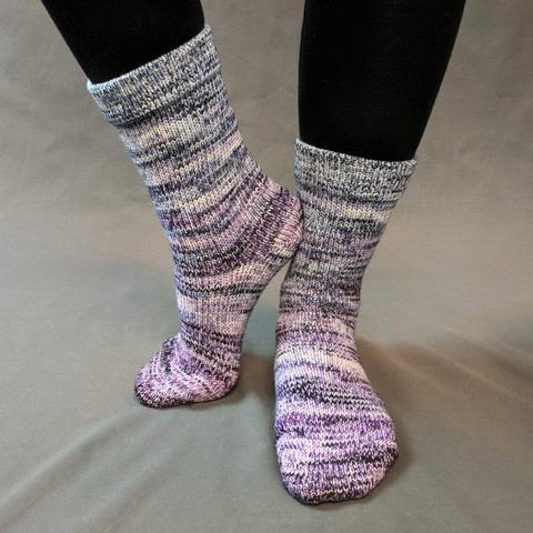 Mistress of Myself Impressionist Matching Socks Set (medium), Greatest of Ease, choose your cakes, ready to ship