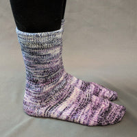 Knitcircus Yarns: Mistress of Myself Impressionist Gradient Matching Socks Set, dyed to order yarn