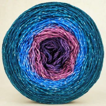 Knitcircus Yarns: Voyage of The Yarn Treader 150g Panoramic Gradient, Greatest of Ease, ready to ship yarn