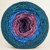 Knitcircus Yarns: Voyage of The Yarn Treader 150g Panoramic Gradient, Opulence, ready to ship yarn