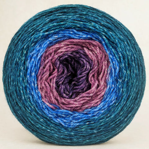 Voyage of The Yarn Treader 150g Panoramic Gradient, Opulence, ready to ship