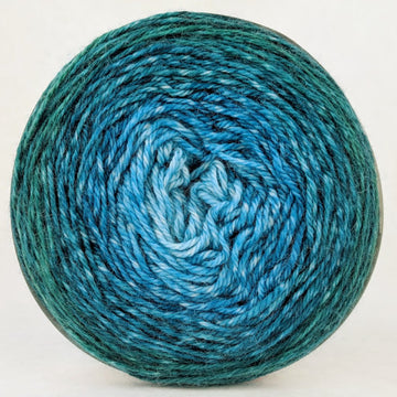 Knitcircus Yarns: Lothlorien 100g Panoramic Gradient, Opulence, ready to ship yarn