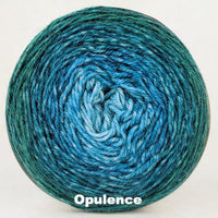 Knitcircus Yarns: Lothlorien Panoramic Gradient, dyed to order yarn