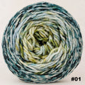 Knitcircus Yarns: Wild Rumpus 150g Impressionist Gradient, Ringmaster, choose your cake, ready to ship yarn