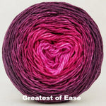 Knitcircus Yarns: My Funny Valentine Chromatic Gradient, dyed to order yarn