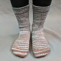 Knitcircus Yarns: Have Fun Storming the Castle Gradient Striped Matching Socks Set, dyed to order yarn