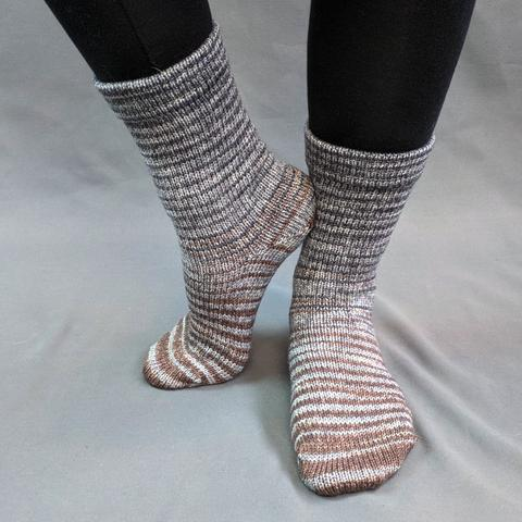Have Fun Storming the Castle Gradient Striped Matching Socks Set (medium), Greatest of Ease, ready to ship