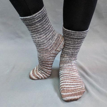 Knitcircus Yarns: Have Fun Storming the Castle Gradient Striped Matching Socks Set (medium), Greatest of Ease, ready to ship yarn