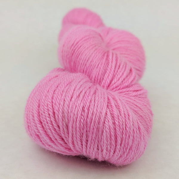Knitcircus Yarns: Persist Pink 100g Kettle-Dyed Semi-Solid skein, Parasol, ready to ship yarn