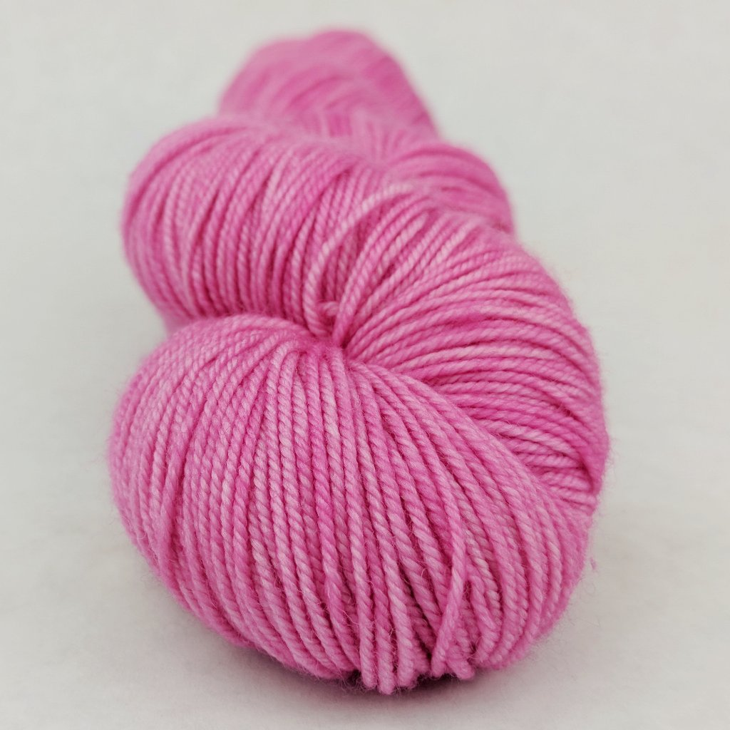 Persist Pink 100g Kettle-Dyed Semi-Solid skein, Trampoline, ready to ship