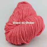 Strawberry Jam Kettle-Dyed Semi-Solid skeins, dyed to order