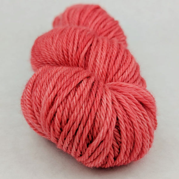 Knitcircus Yarns: Strawberry Jam 100g Kettle-Dyed Semi-Solid skein, Ringmaster, ready to ship yarn - SALE