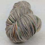 Fire Swamp 100g Speckled Handpaint skein, Parasol, ready to ship