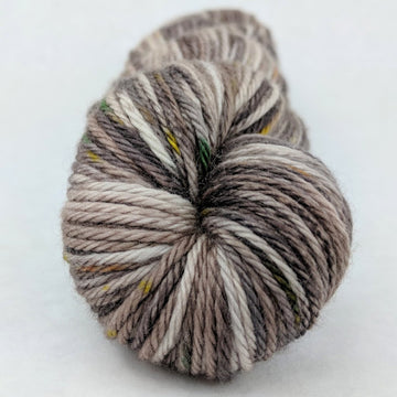 Knitcircus Yarns: Fire Swamp 100g Speckled Handpaint skein, Ringmaster, ready to ship yarn - SALE
