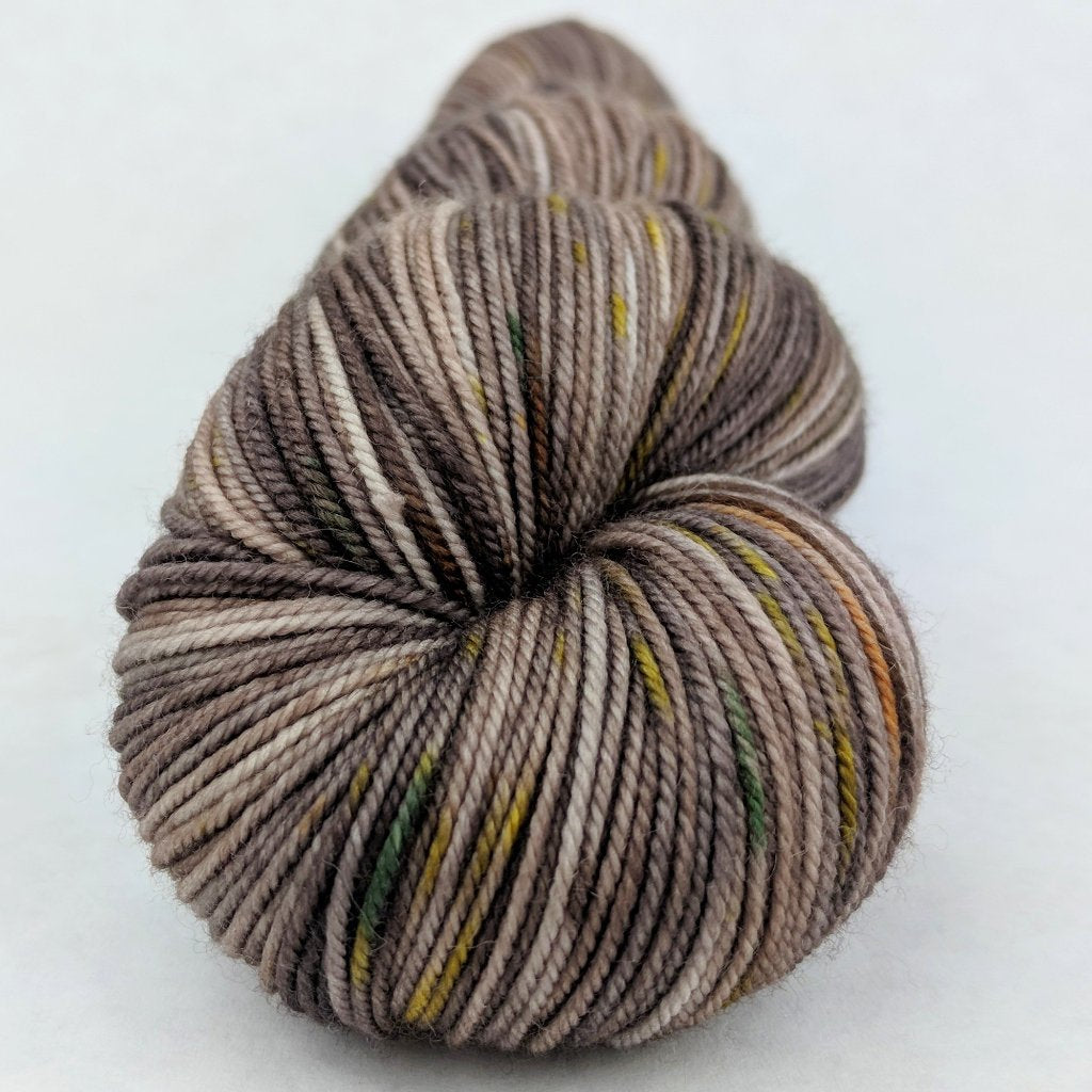 Fire Swamp 100g Speckled Handpaint skein, Trampoline, ready to ship