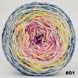 Easy Peasy Lemon Squeezy 150g Impressionist Gradient, Parasol, choose your cake, ready to ship