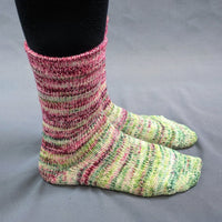 Knitcircus Yarns: Holly and Ivy Impressionist Gradient Matching Socks Set, dyed to order yarn