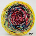 Knitcircus Yarns: Pippi Longstocking 100g Impressionist Gradient, Divine, choose your cake, ready to ship yarn