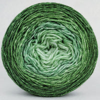 Knitcircus Yarns: Mint Festival 100g Chromatic Gradient, Opulence, ready to ship yarn