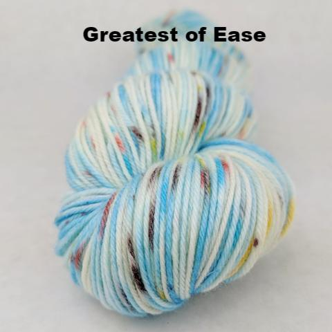 Into the Mystic Speckled Handpaint Skeins, dyed to order