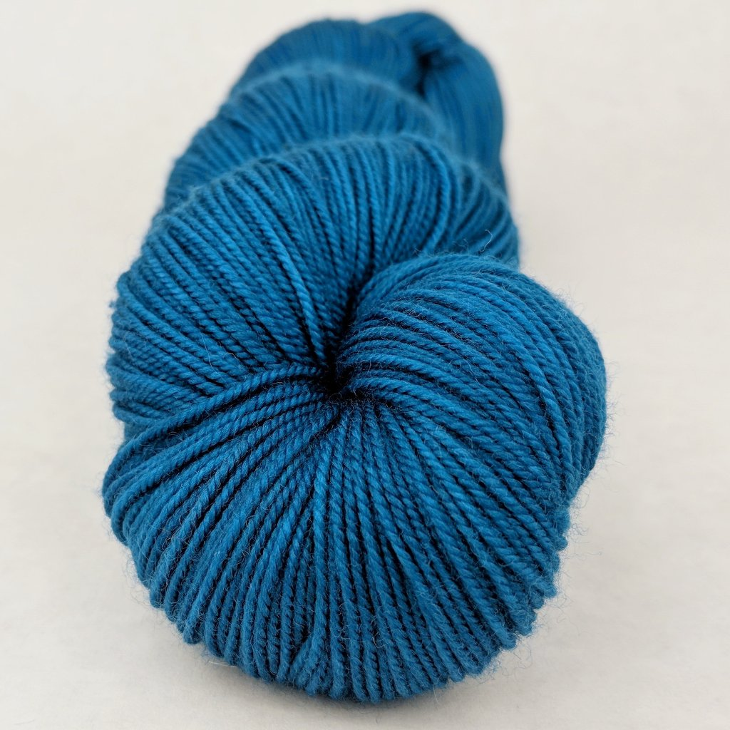Fly Me to the Moon 100g Kettle-Dyed Semi-Solid skein, Trampoline, ready to ship