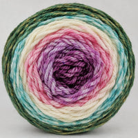 Knitcircus Yarns: Pocket Full Of Posies 100g Panoramic Gradient, Ringmaster, ready to ship yarn