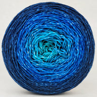 Knitcircus Yarns: Under the Sea 150g Chromatic Gradient, Trampoline, ready to ship yarn